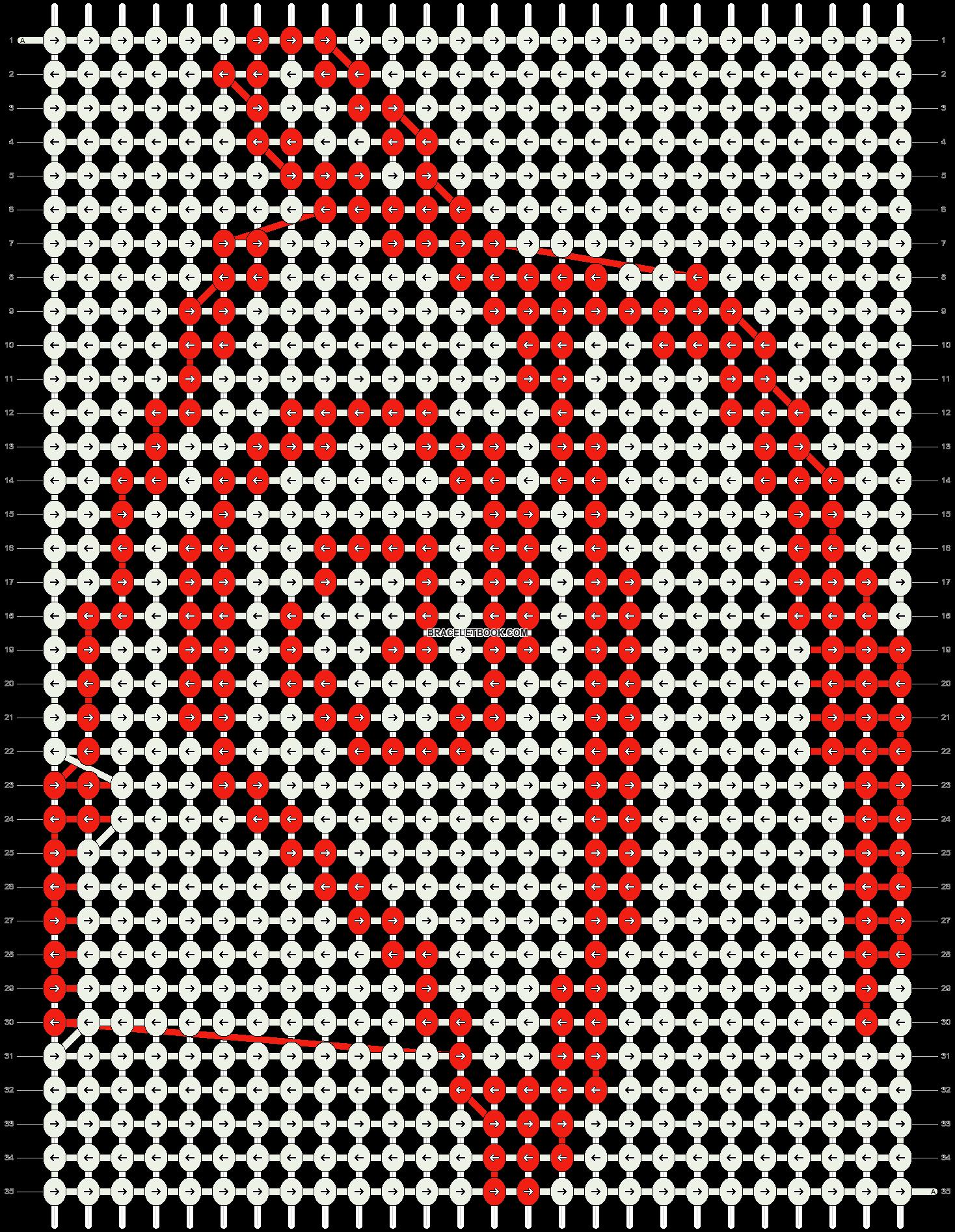 Alpha pattern #13901 pattern