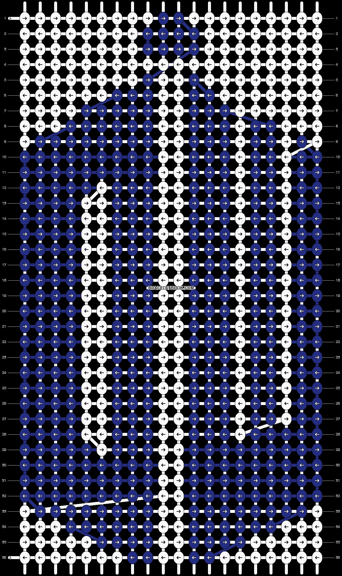 Alpha pattern #13902 pattern