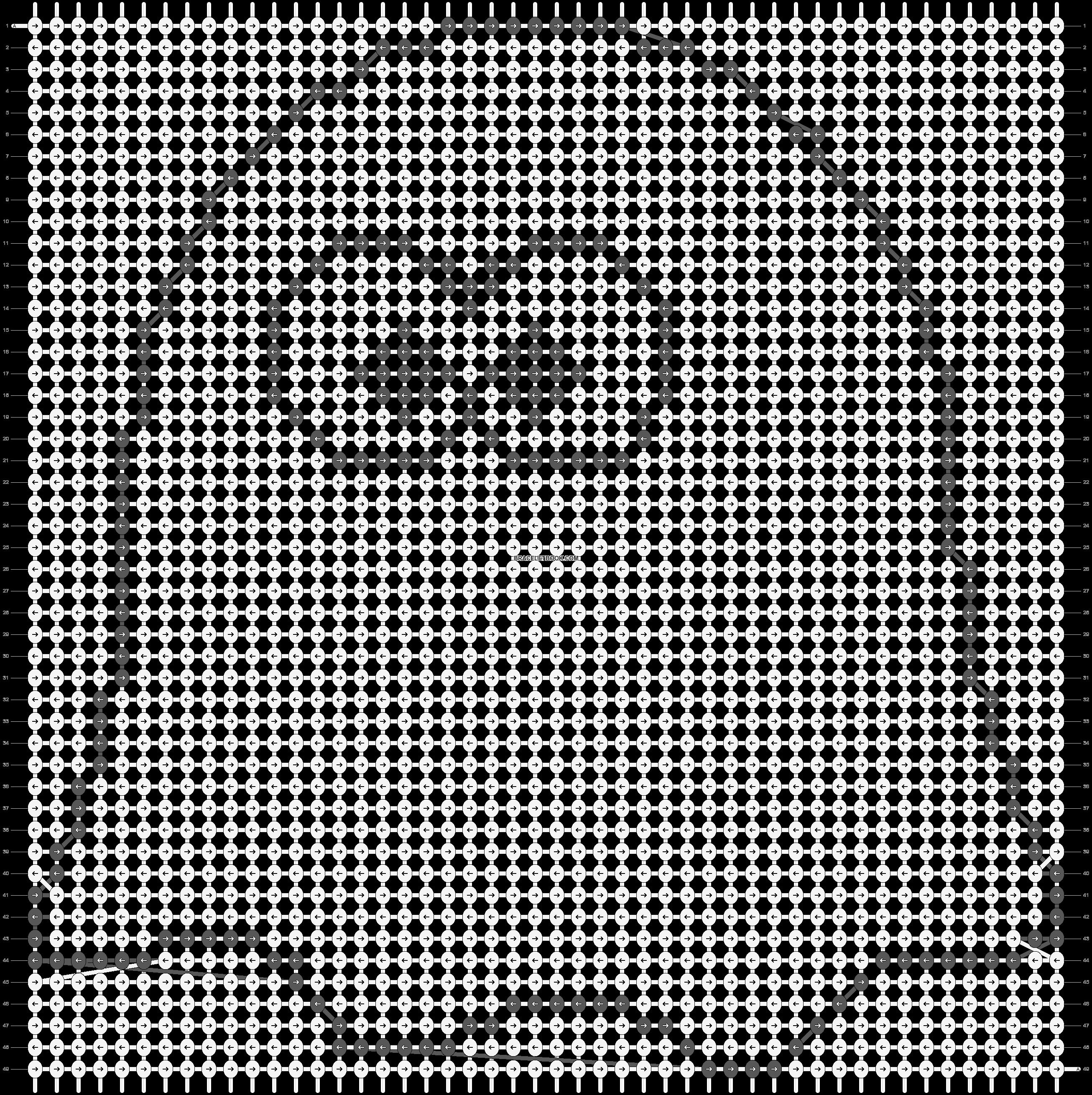 Alpha pattern #13904 pattern