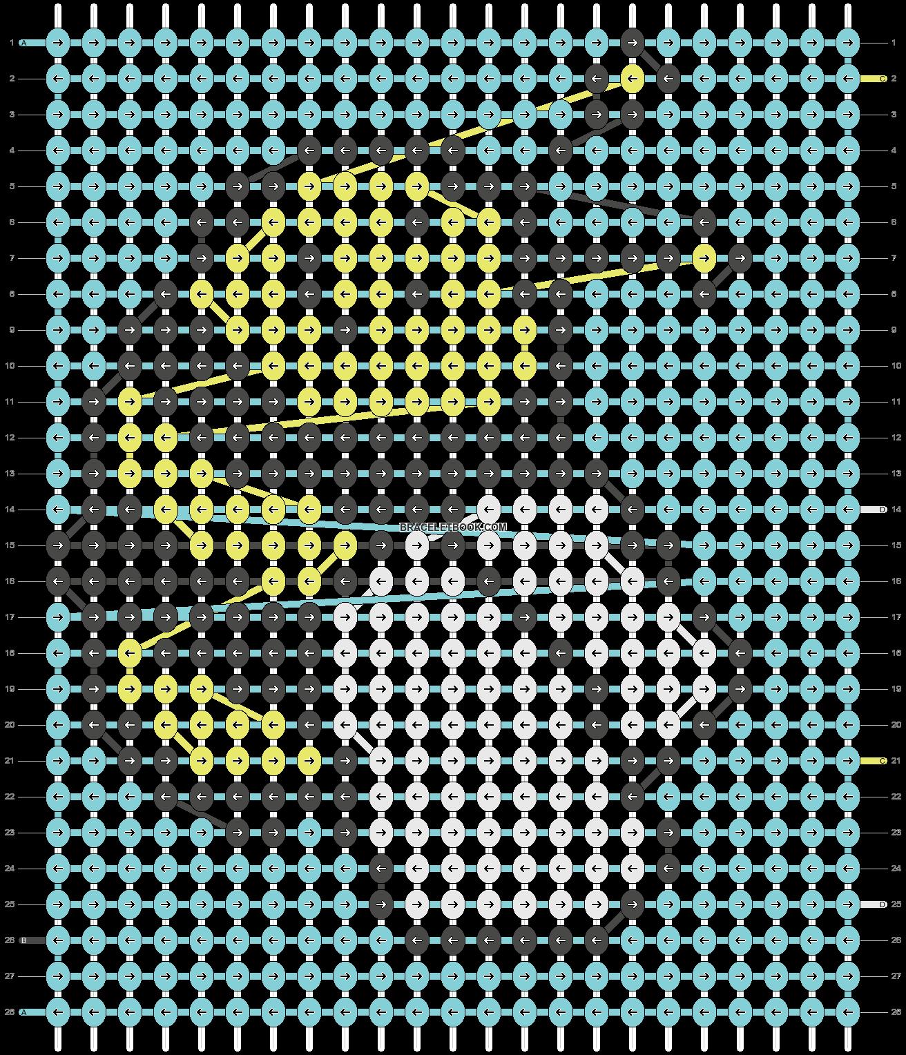 Alpha pattern #13907 pattern