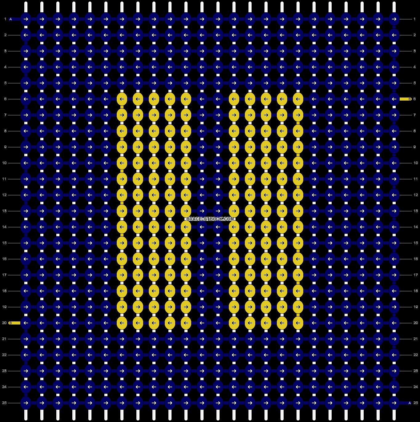Alpha pattern #13909 pattern