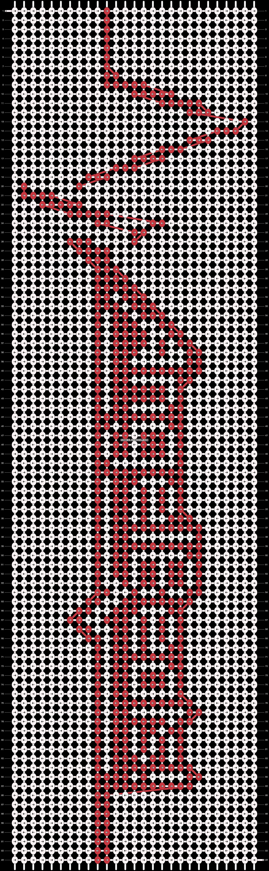 Alpha pattern #13914 pattern