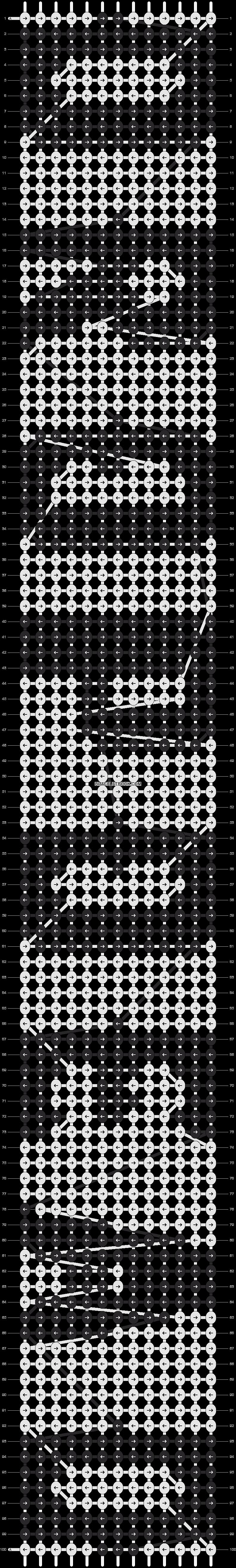 Alpha pattern #13915 pattern