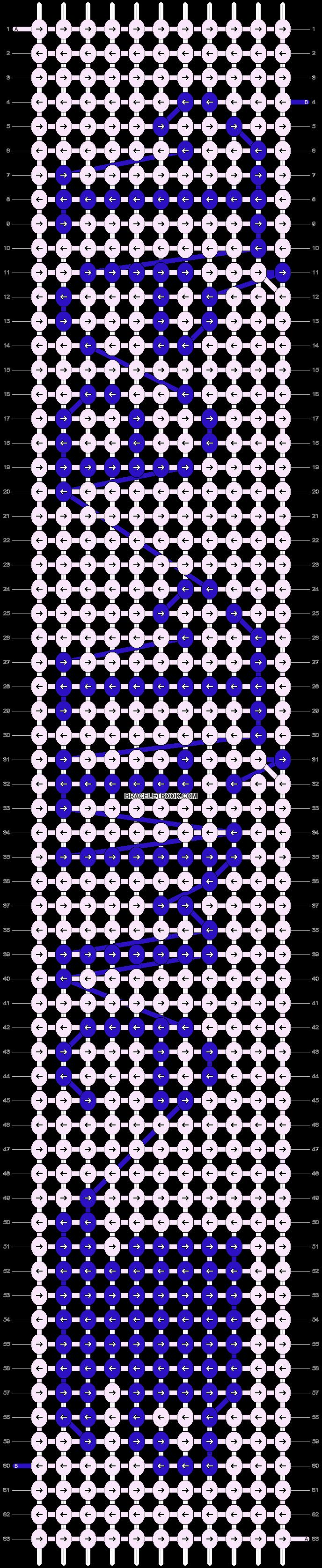 Alpha pattern #13922 pattern