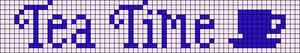 Alpha pattern #13922