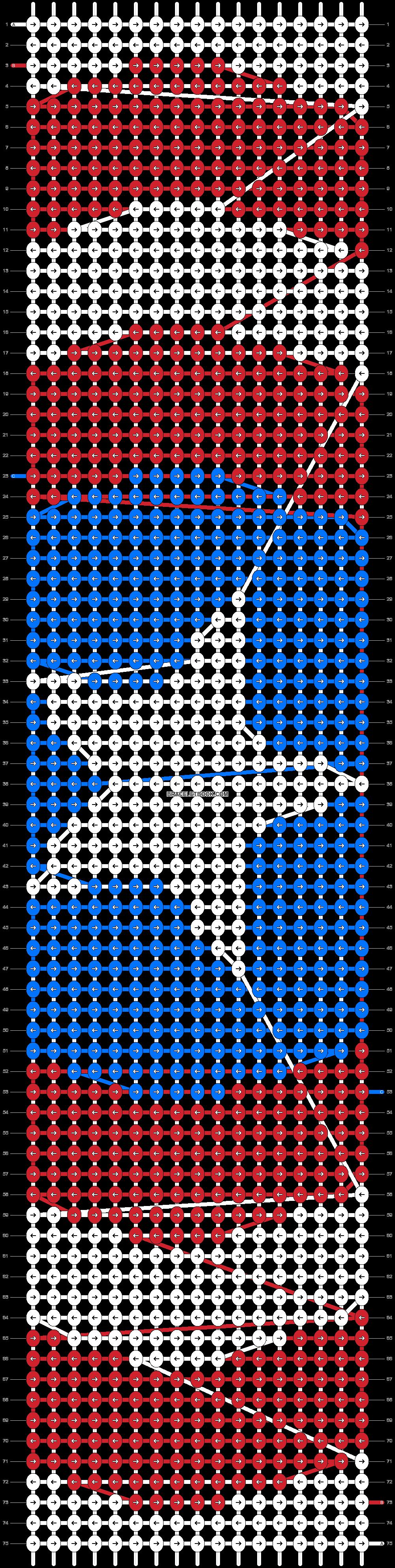 Alpha pattern #13926 pattern