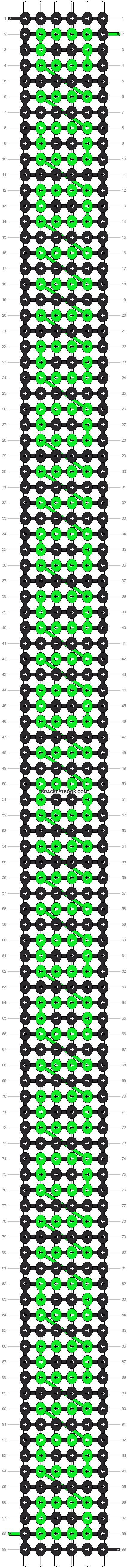 Alpha pattern #13933 pattern