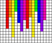 Alpha Friendship Bracelet Pattern #13943