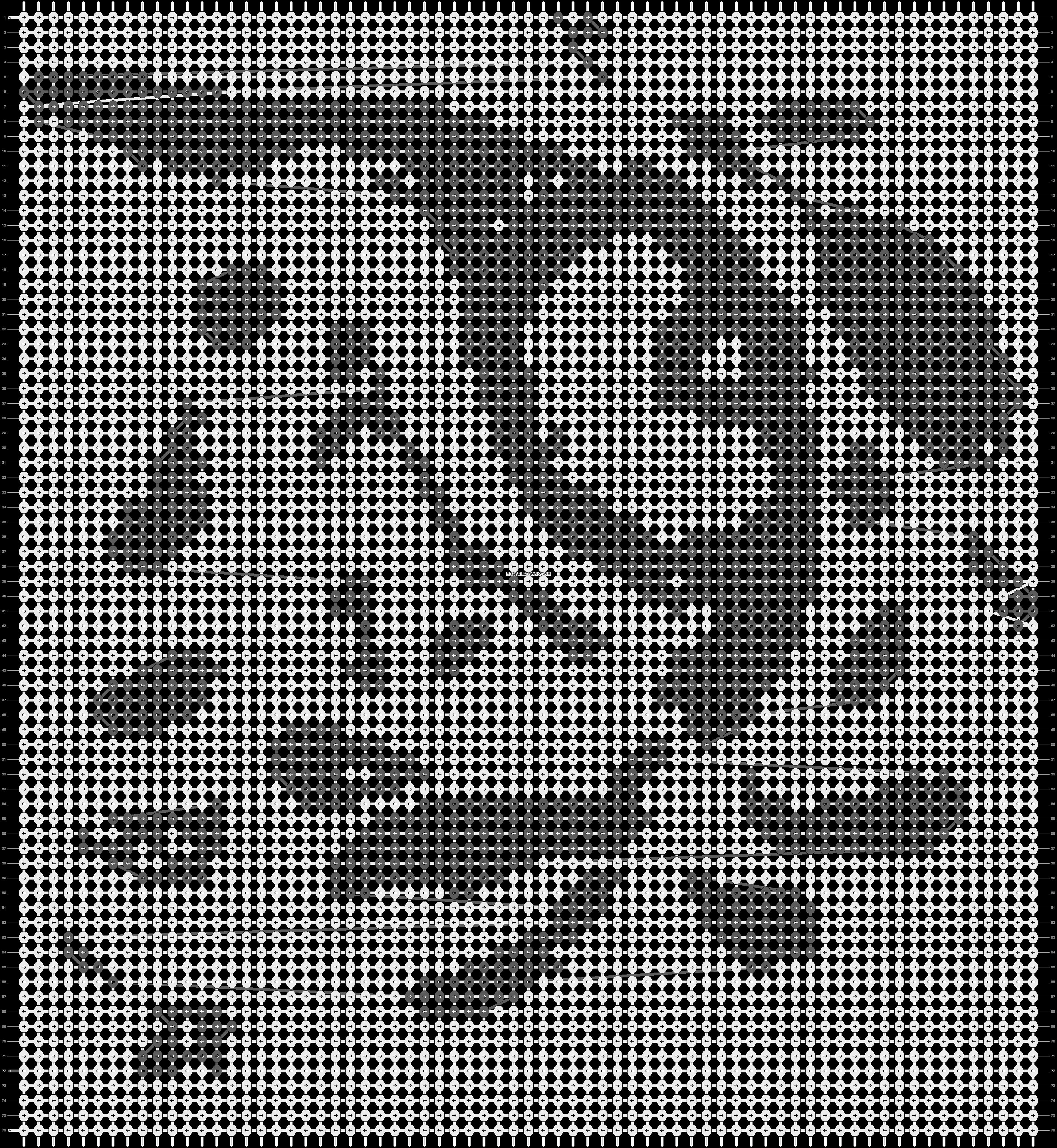 Alpha pattern #13951 pattern