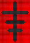 Alpha pattern #13957