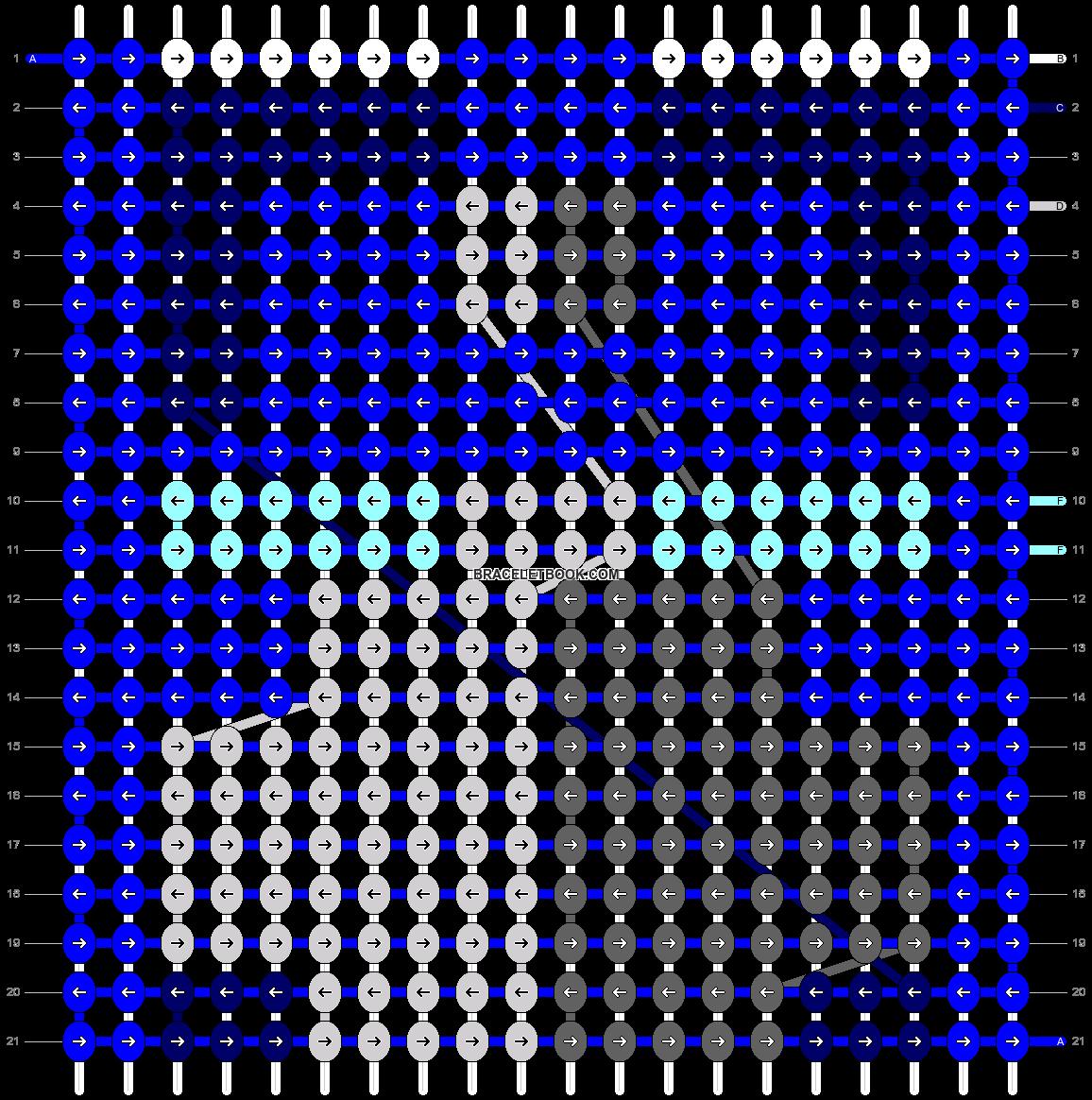 Alpha pattern #13961 pattern