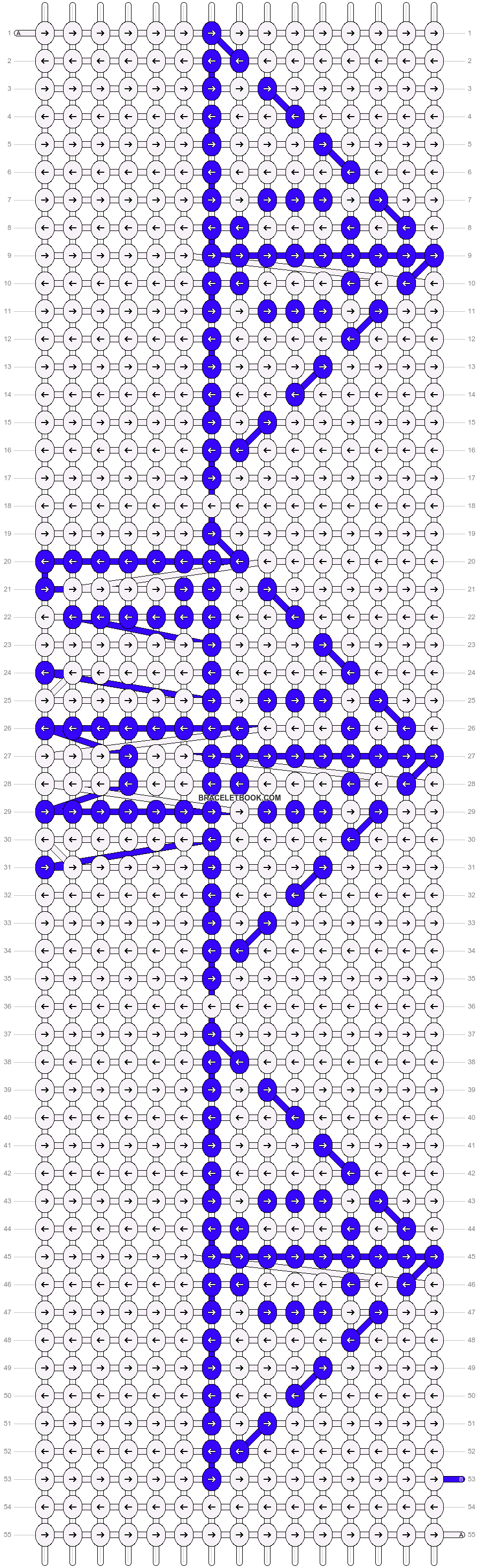 Alpha pattern #13971 pattern