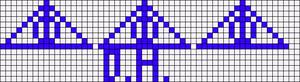 Alpha pattern #13971