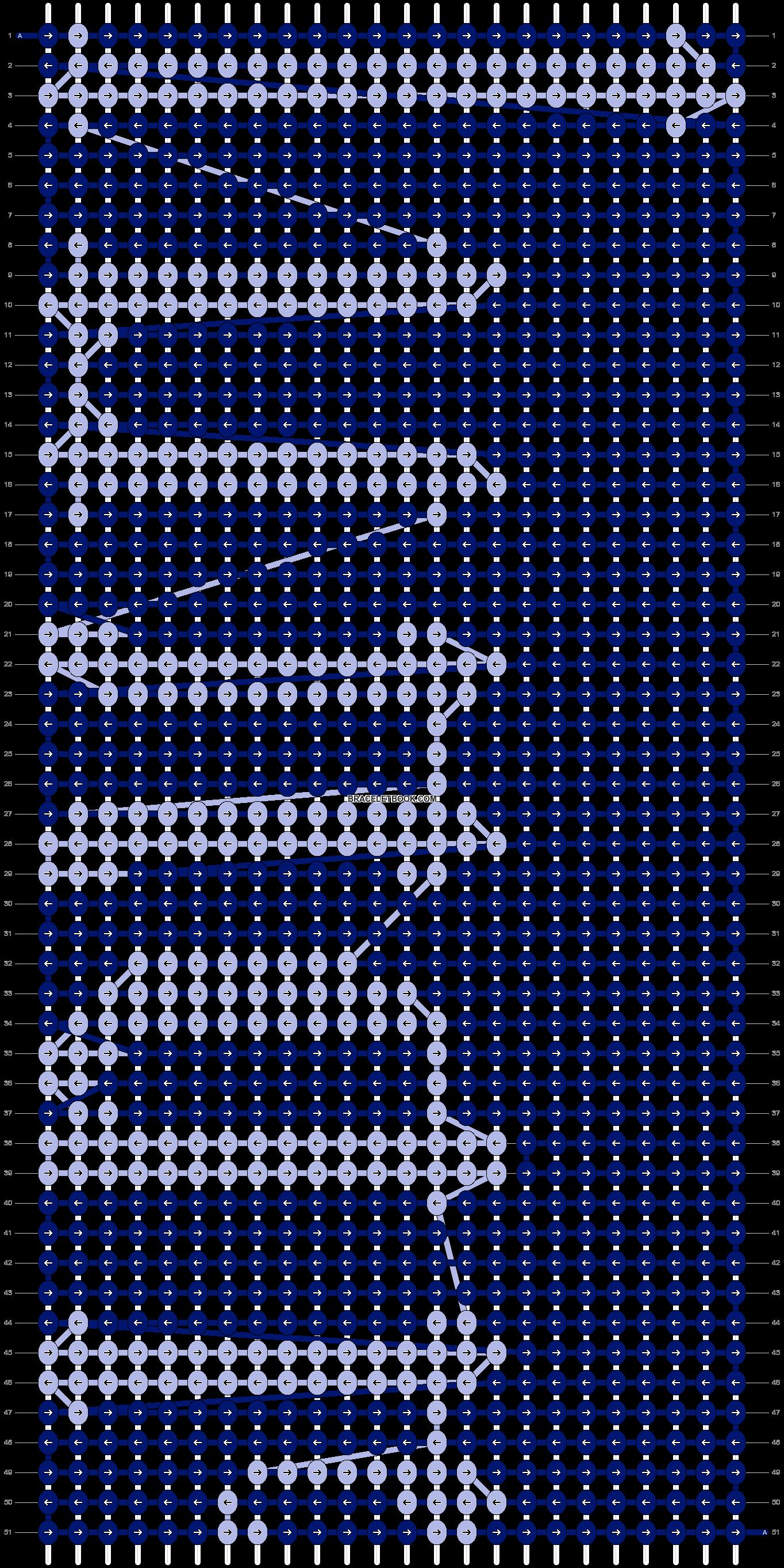 Alpha pattern #13974 pattern