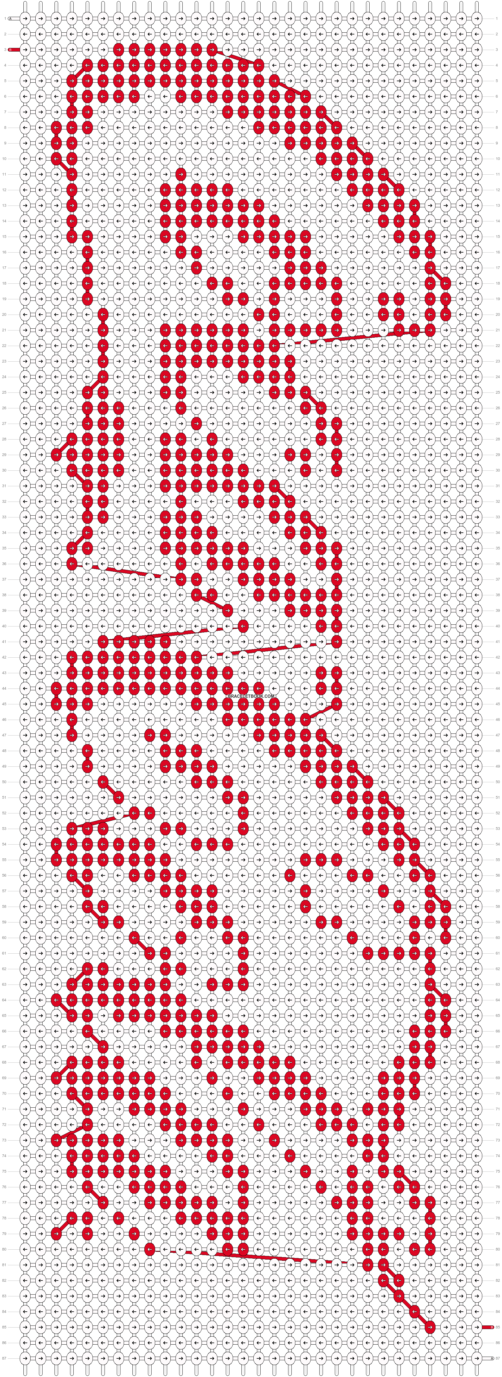 Alpha pattern #13978 pattern
