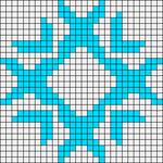 Alpha pattern #13980