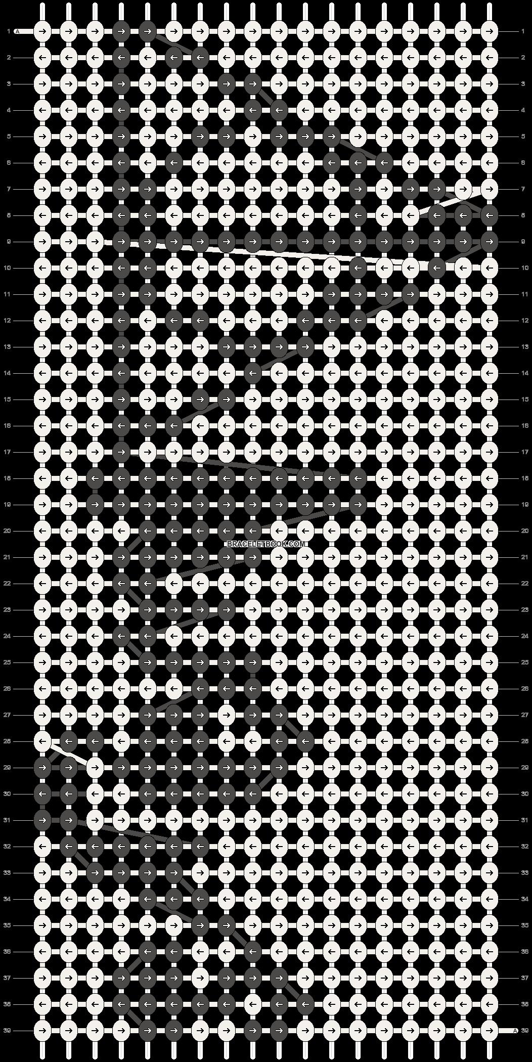 Alpha pattern #13981 pattern