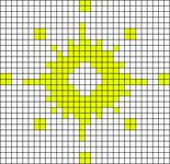 Alpha pattern #13982