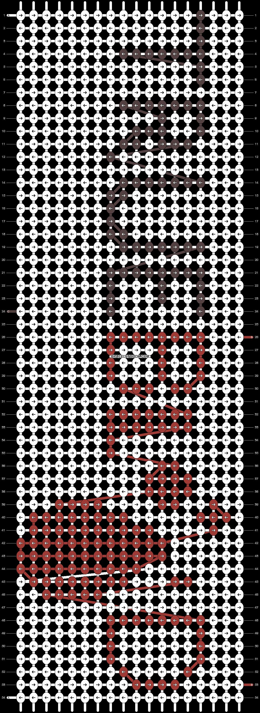 Alpha pattern #13989 pattern