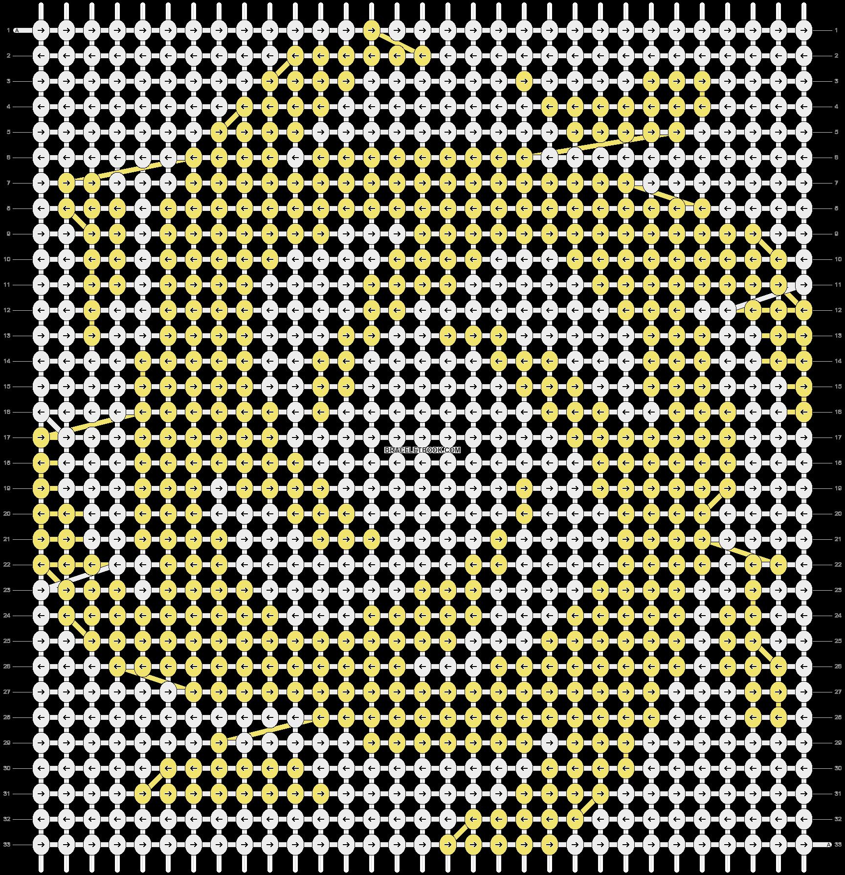 Alpha pattern #13992 pattern