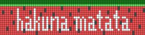 Alpha Friendship Bracelet Pattern #13996