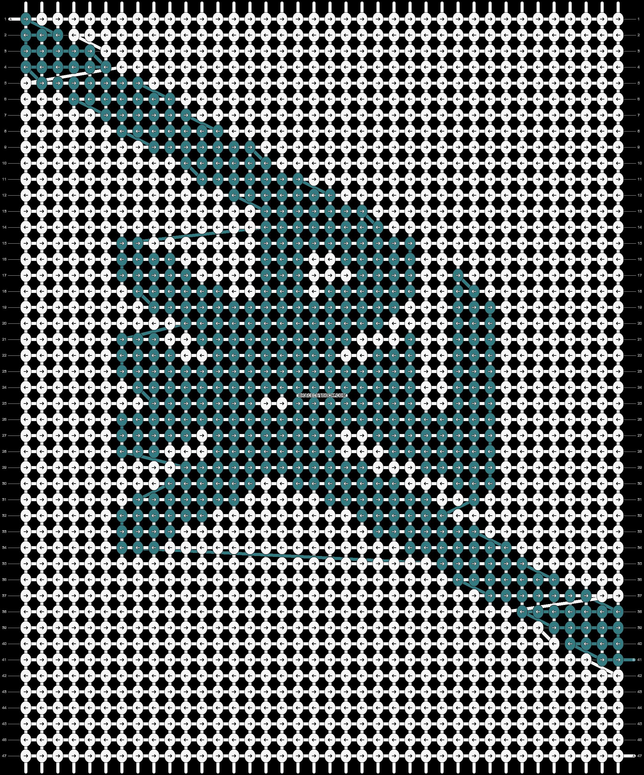 Alpha pattern #13997 pattern