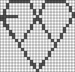 Alpha pattern #14000