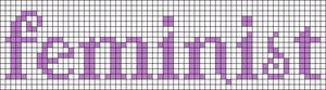 Alpha pattern #14006