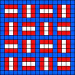 Alpha pattern #14014