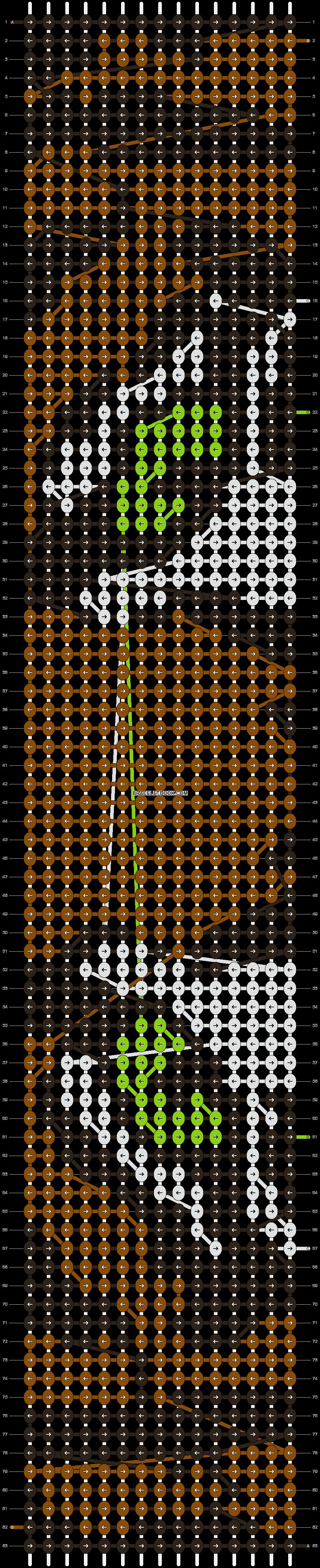 Alpha pattern #14022 pattern