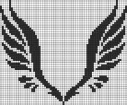 Alpha pattern #14023