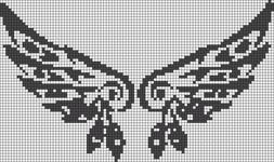 Alpha pattern #14025