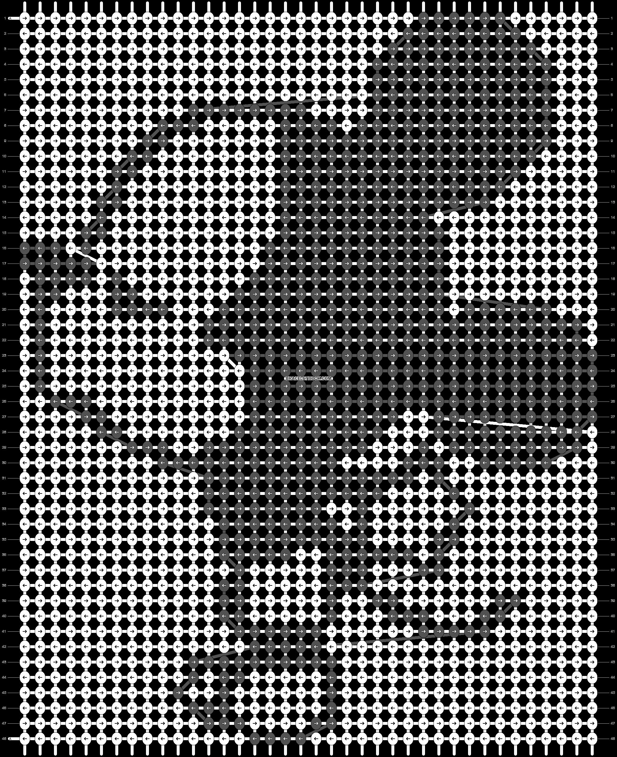 Alpha pattern #14030 pattern