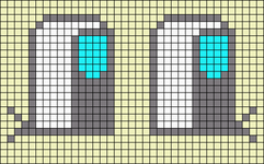 Alpha pattern #14037