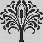 Alpha Friendship Bracelet Pattern #14052