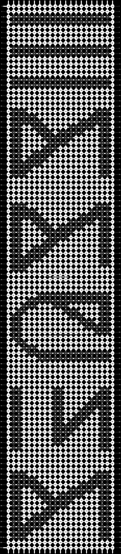 Alpha pattern #14053 pattern
