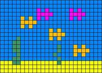 Alpha pattern #14055