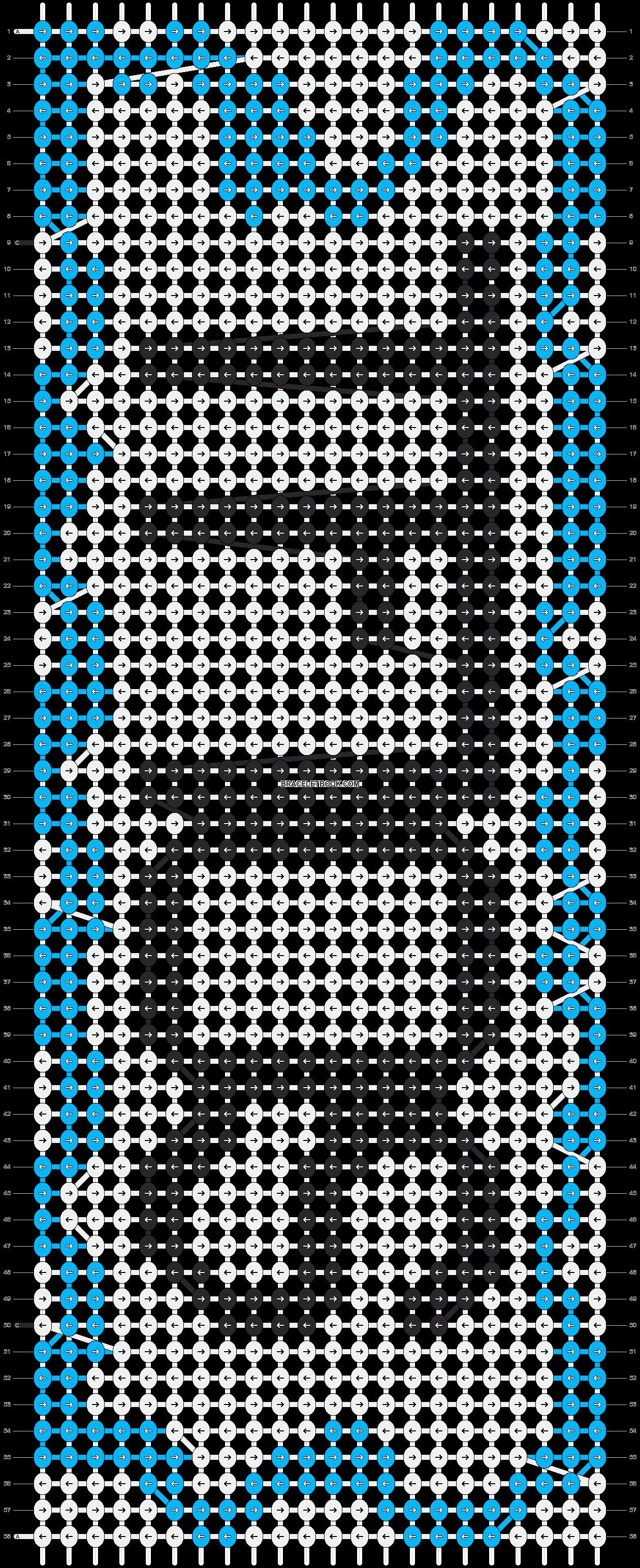 Alpha pattern #14058 pattern