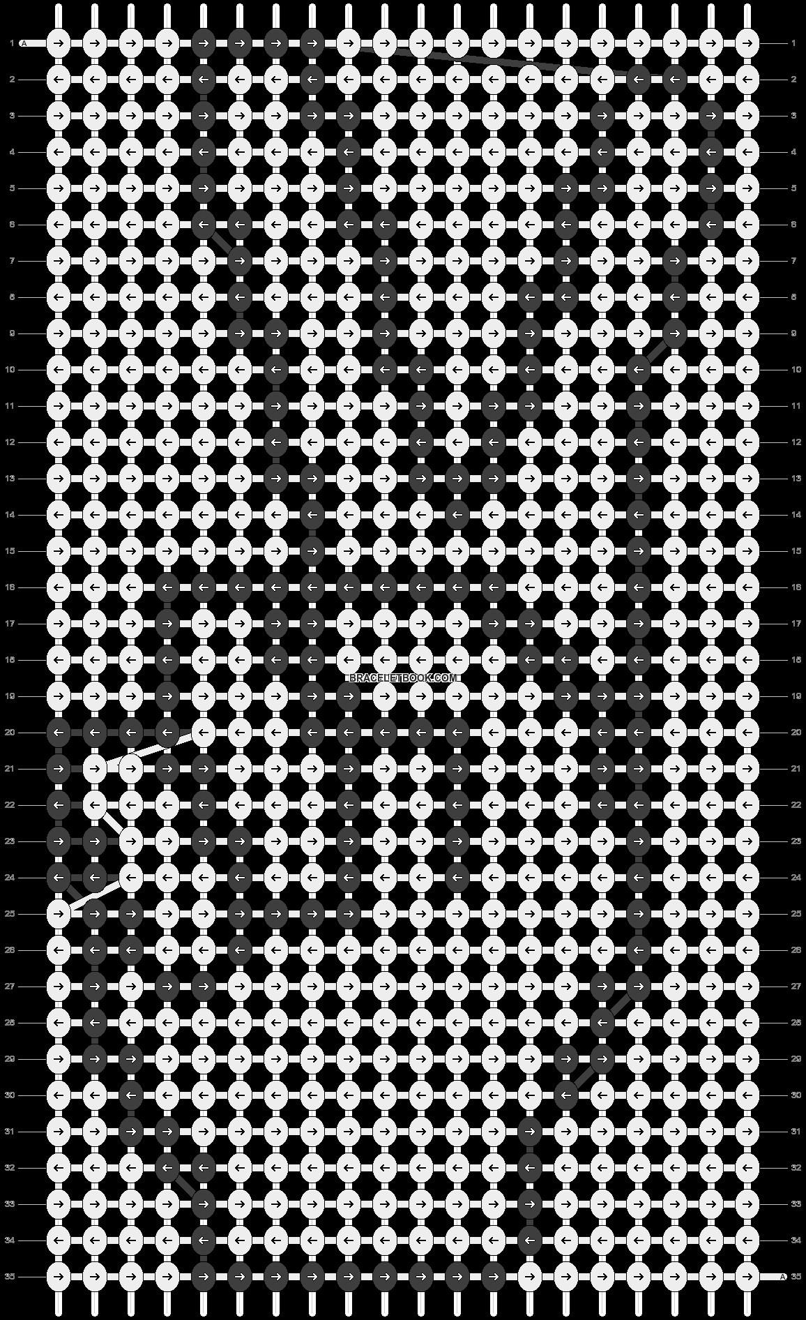 Alpha pattern #14060 pattern