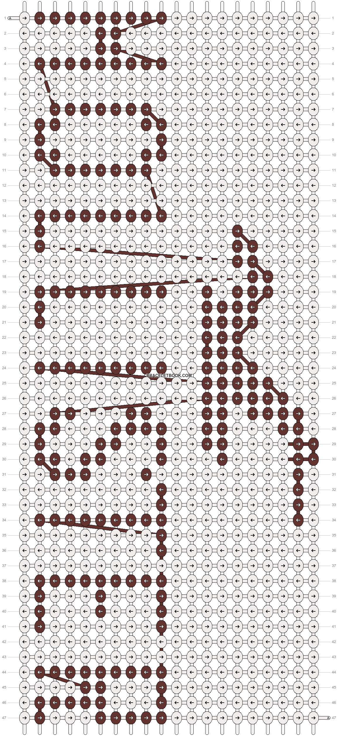 Alpha pattern #14061 pattern