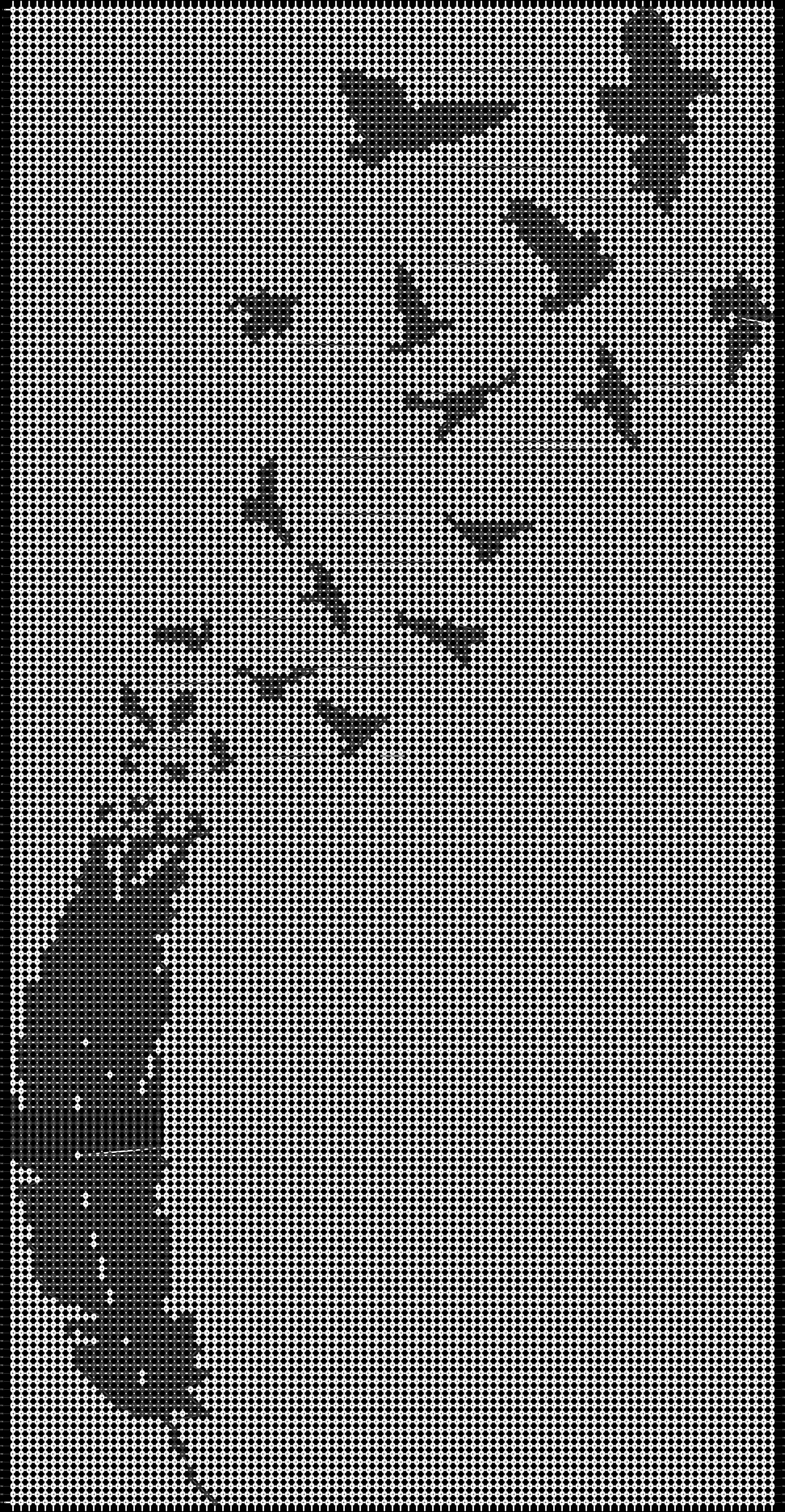 Alpha pattern #14062 pattern