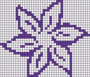 Alpha Friendship Bracelet Pattern #14064