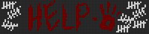 Alpha Friendship Bracelet Pattern #14065