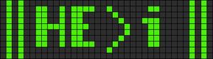 Alpha pattern #14071