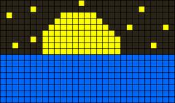 Alpha pattern #14080