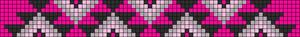 Alpha Friendship Bracelet Pattern #14081