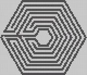 Alpha pattern #14083