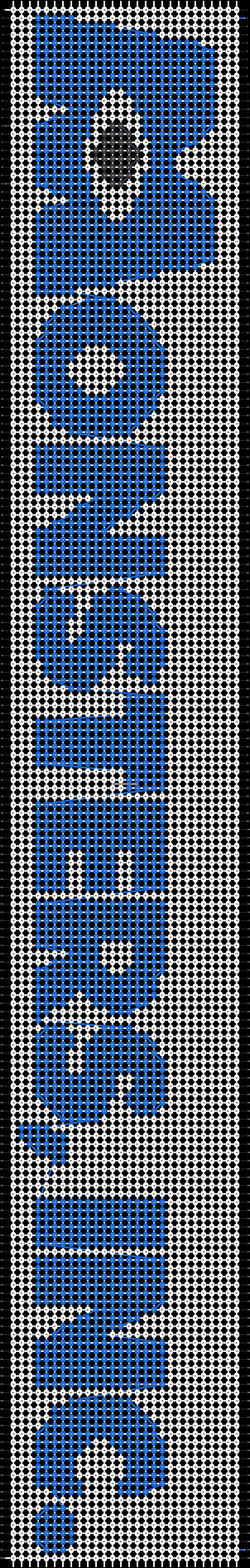 Alpha pattern #14098 pattern