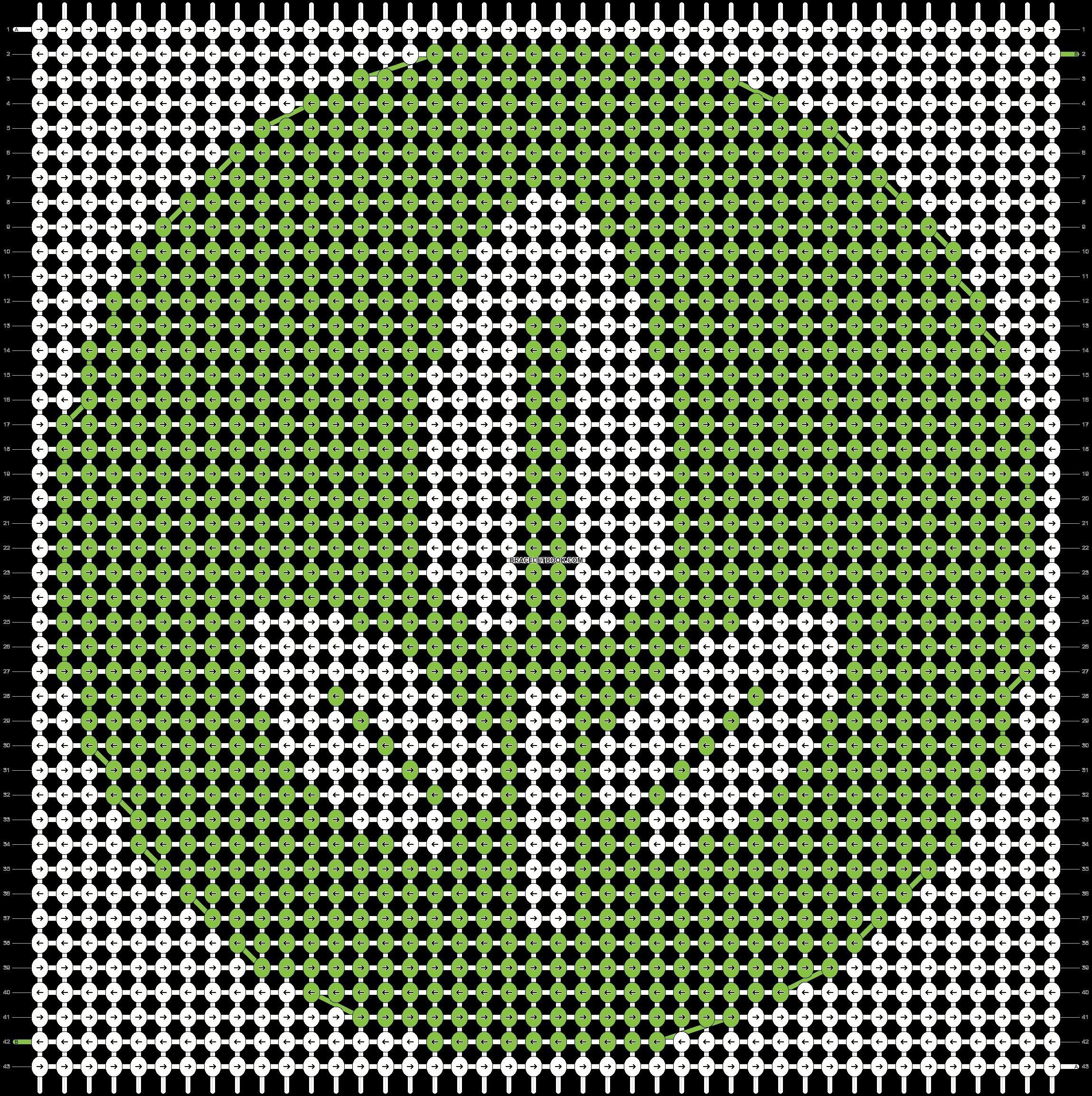 Alpha pattern #14106 pattern
