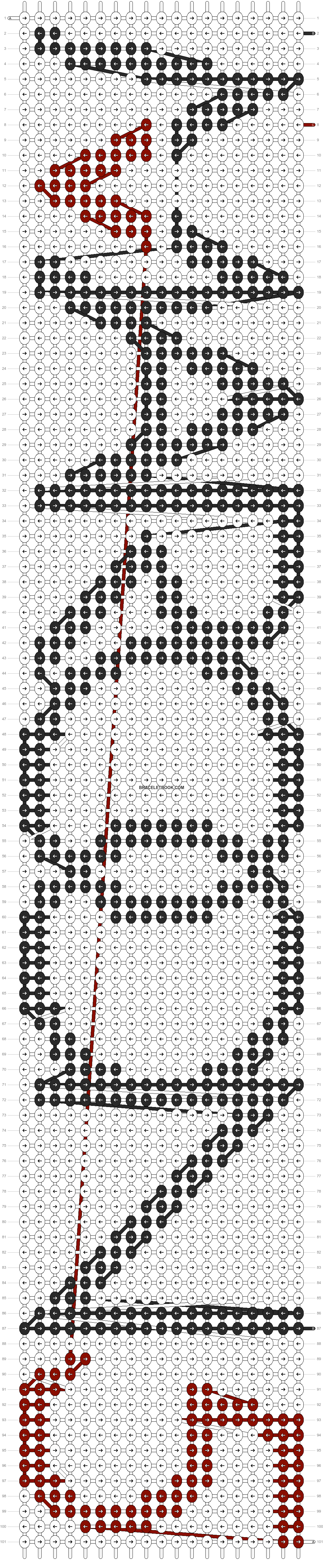 Alpha pattern #14118 pattern